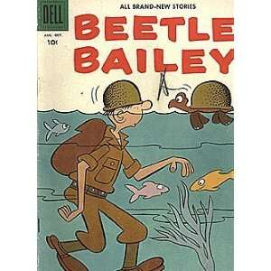 Beetle Bailey (1953 series) #7 Dell Publishing Books