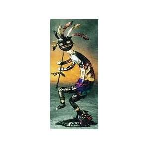 Kokopelli Art and Coyotes