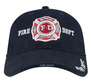 NEW Navy Blue Fire Department Low Profile Ball Cap