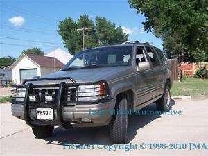 93 98 Jeep Grand Cherokee Black Brush Grille Guard USA
