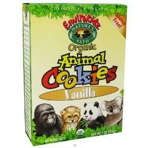 Natures Path Organic   EnviroKidz Organic Animal Cookies Vanilla   9