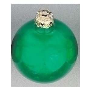 com 7 Huge Green Pearl Glass Ball Christmas Ornament Home & Kitchen