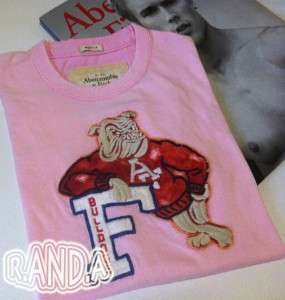 Abercrombie & Fitch Destroyed T shirt Graphic Tee Menss NWT