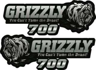 YAMAHA Grizzly 700 Graphic Kit. Tank Decals, Grpahic Kit. HPGK ATV