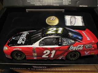 2004 #21 Ricky Rudd Coca Cola C2 Ford Taurus NASCAR Die Cast by Team