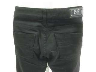 RAG RECYCLE Black Rhinestone Detail Jeans Pants Sz 27
