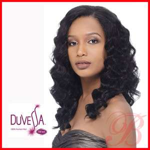 Outre Duvessa 100 Remi Human Hair Vienna Wave 14 Weave Extension On
