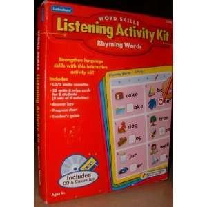 Word Skills Listening Activity Kit   Rhyming Words Toys