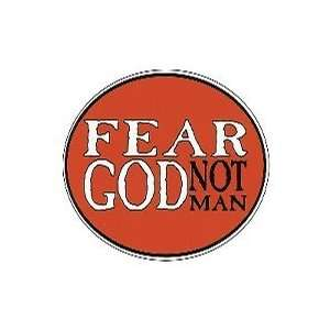Euro Sticker Fear God Not Man Pack of 6