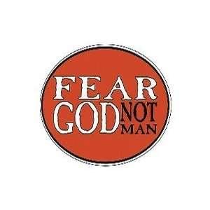 Euro Sticker Fear God Not Man Pack of 6 Pet Supplies