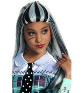 Monster High Frankie Stein Costume Wig *New*