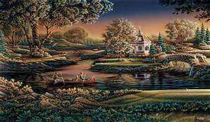 Terry Redlin Summer on the Green Elite Golf Print