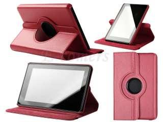 Colors Option  Kindle Fire 360° Rotating Leather Folio Case