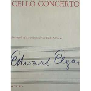 (Arranged by the composer for Cello & Piano): Edward Elgar: Books