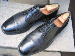 Florsheim Black Leather Dress Oxfords 10.5
