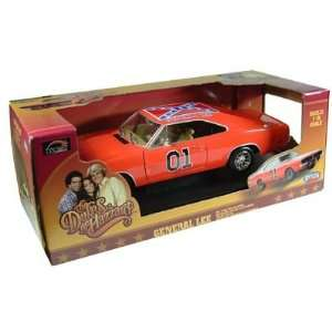 Dukes Of Hazzard General Lee Diecast 1/18 Scale Toys