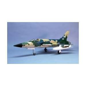 F 105 Thunderchief Laser Cut Wooden Model Airplane by