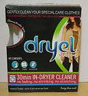 Dryel Starter Kit Home Dry Cleaning Kit Dryer New