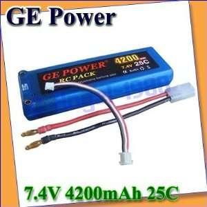 25c li po battery for rc car truck boat hard case + Toys & Games