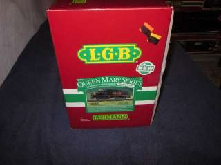 LGB 2056 G SCALE QUEEN MARY SERIES RIO GRANDE DIESEL LOCOMOTIVE MIB