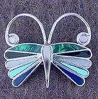 Zuni Knifewing Pin Pendant Quam Small Indian Jewelry