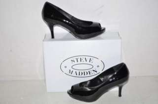 Steve Madden Womens Heels Shoes   Pyper Black SZ 6.5M