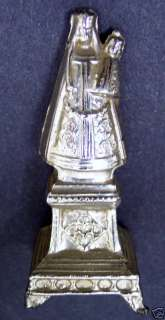 Antique Art Statue of our Lady Madonna Catholic Icon