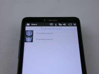 HTC HD2 in BOX   BLACK ( T MOBILE ) **10/10 MINT** 4710937334074