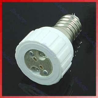 E14 to MR16 Base LED Light Lamp Bulbs Adapter Converter New