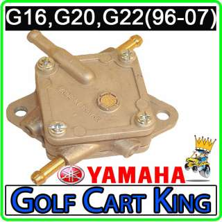 Fuel Pump (1996 2007) G16, G20, G22 4 cycle Gas Golf Cart