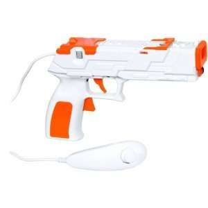 Dgwii 1253 Nintendo Wii Motionplus Quick Shot Plus Gun: Video Games