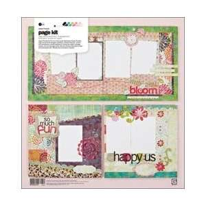New   Sweet Threads Page Kit 12X12 by Basic Grey Arts