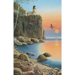 Sunsout   Split Rock Lighthouse 1000pcs (Puzzles) Toys & Games
