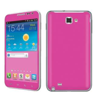 USA Made Hot Pink Vinyl Case Decal Skin To Cover Samsung Galaxy Note