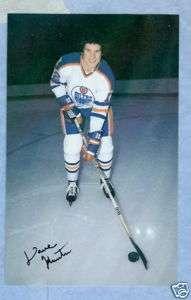 1979 80 NHL Edmonton Oilers Postcard Dave Hunter Rookie