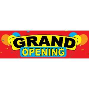 2.5ft x 8ft Grand Opening Banner   High quality   20oz
