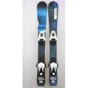 New ECO Blue Black Kids Shape Snow Ski with Salomon T5
