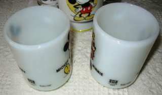 Disney Mickey Mouse   Pepsi and Coca Cola Lot of 5 Mugs and Glasses