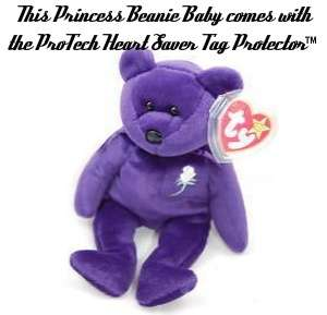 Princess Diana Beanie Baby Bear 5th Ed #5 1997 PE China MWMT True