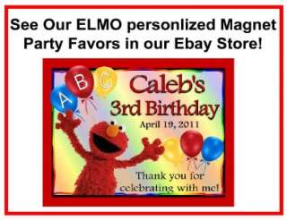 60 ELMO BIRTHDAY PARTY FAVORS CANDY WRAPPERS