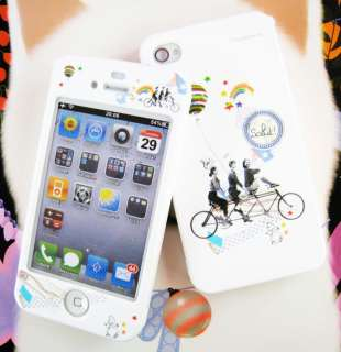 APPLE IPHONE 4G Hard Plastic Case Cover BICYCLE