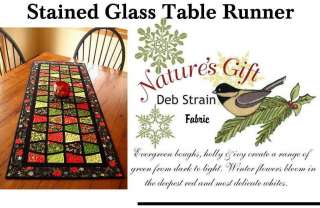 STAINED GLASS TABLE RUNNER Quilt Kit   PRECUT  Moda