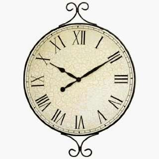 DD Discounts 378507 Decorative Metal Framed Wall Clock