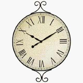 DD Discounts 378507 Decorative Metal Framed Wall Clock