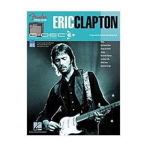 Hal Leonard Fender G Dec Eric Clapton Play Along Guitar