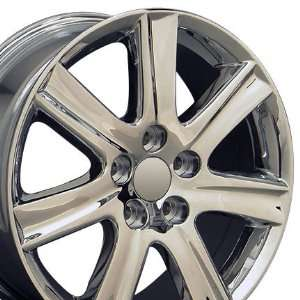 ES 350 Style Wheel Fits Lexus   Chrome 17x7 Automotive