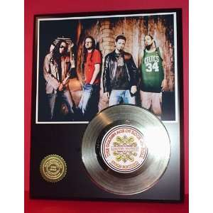 Korn 24kt Gold Record LTD Edition Display ***FREE PRIORITY