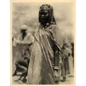 1930 Africa Aulad Hamid Arab Woman Costume Robe Sudan