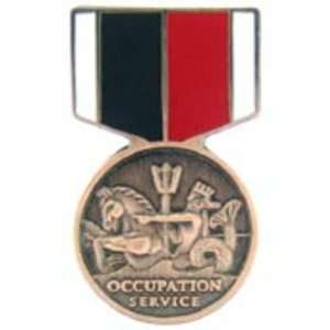 U.S. Navy & Marine Corps Occupation Service Medal Pin 1 3