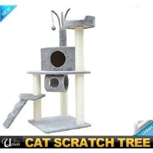 Frugah New 47 Kitty Cat Tree Condo Post Cat Scratcher Tower